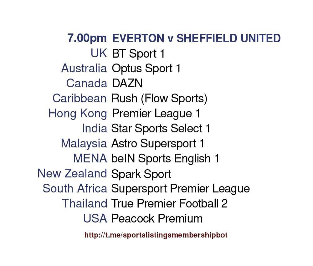 Premier League 16/5/2021 - Everton v Sheffield United