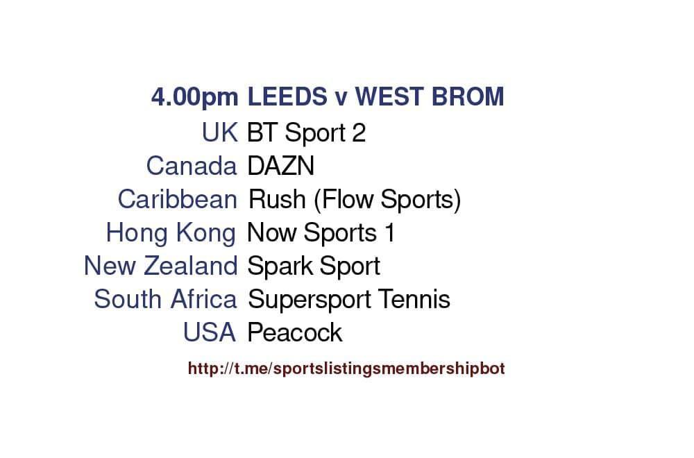 Premier League 23/5/2021 - Leeds v West Bromwich Albion