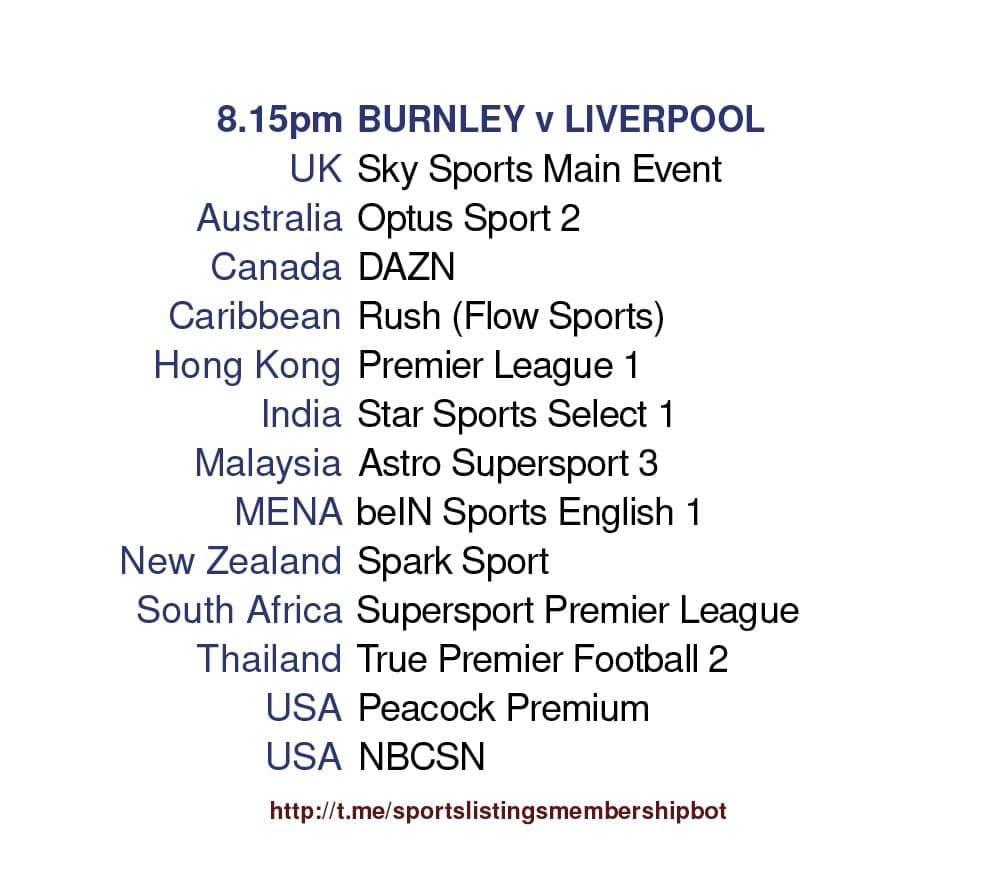 Premier League 19/5/2021 - Burnley v Liverpool