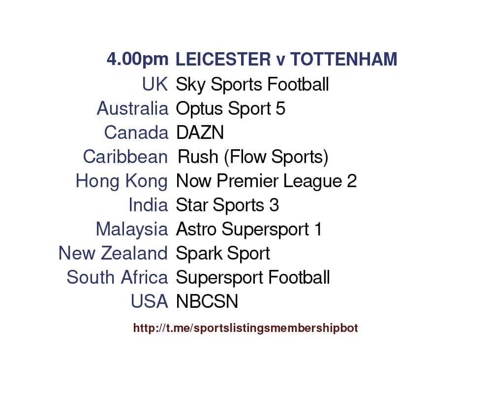 Premier League 23/5/2021 - Leicester v Tottenham