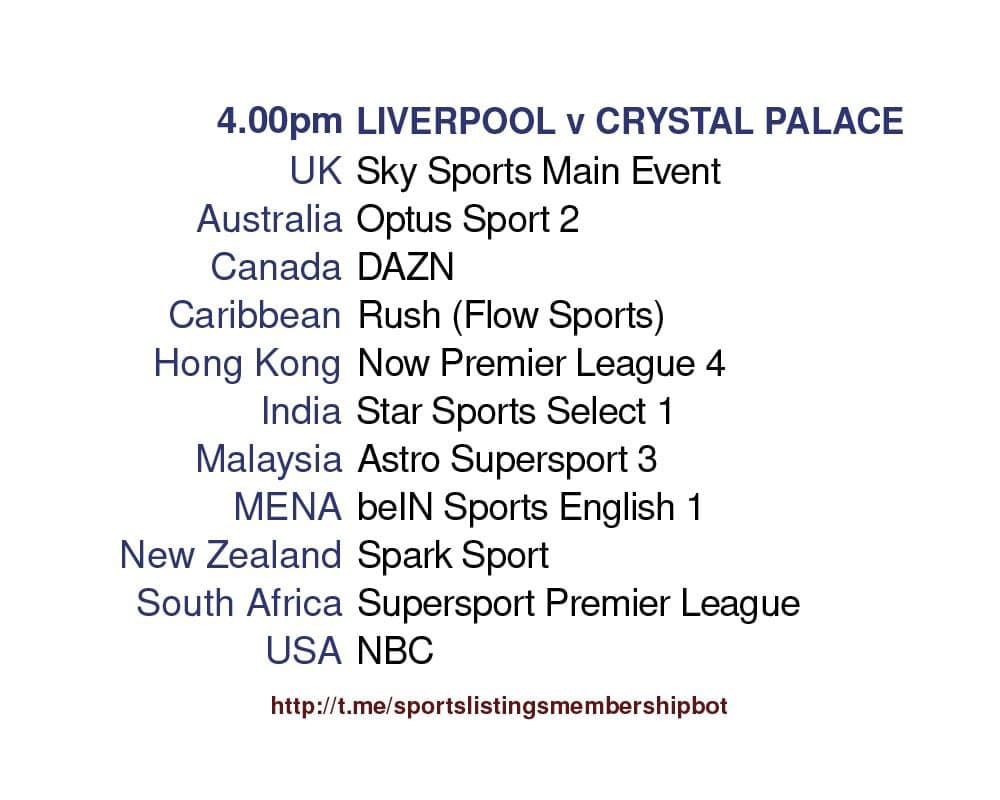 Premier League 23/5/2021 - Liverpool v Crystal Palace