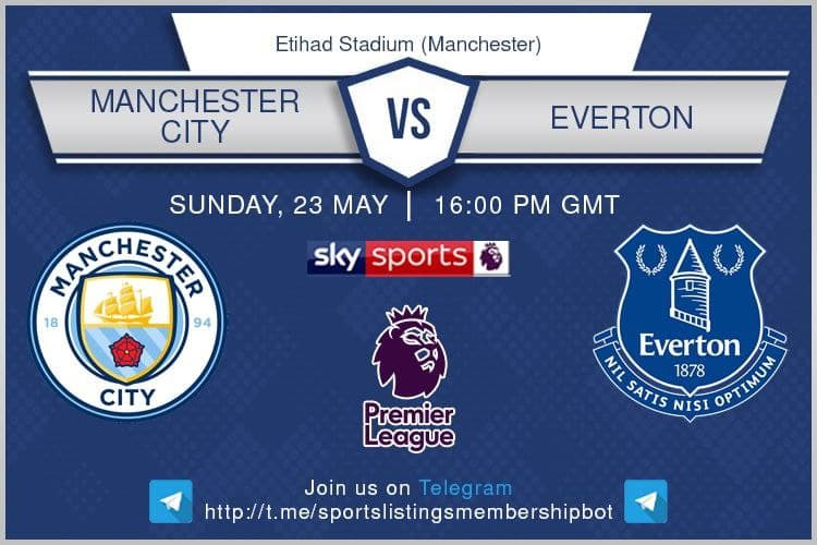 Premier League 23/5/2021 - Manchester City v Everton