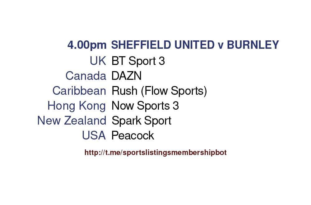 Premier League 23/5/2021 -Sheffield United v Burnley