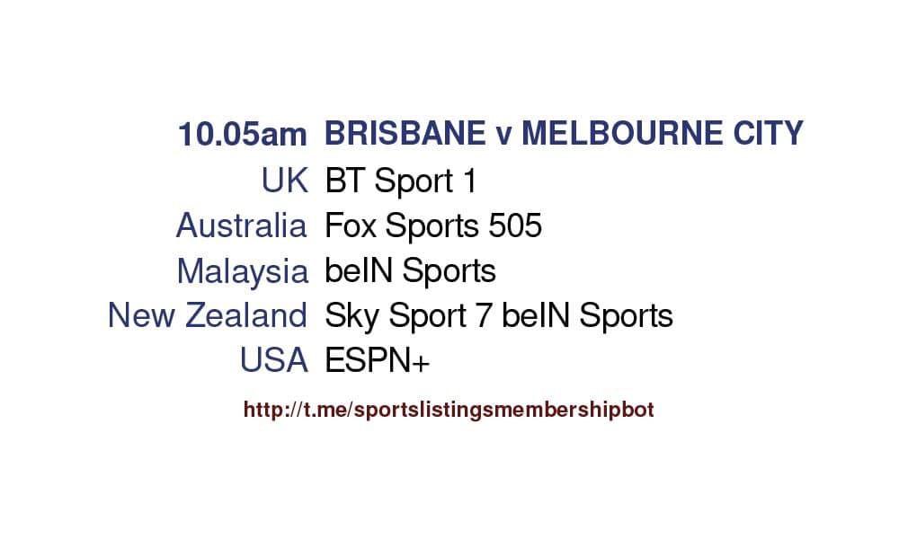 Football 25/5/2021 - Brisbane Roar v Melbourne City