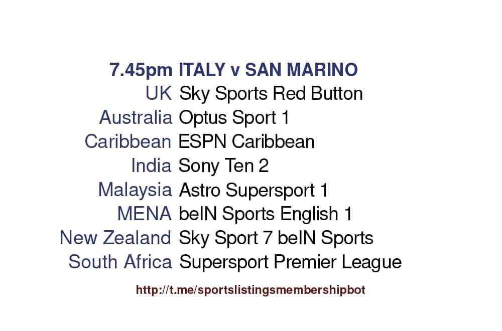 International Friendly 28/5/2021 - Italy v San Marino