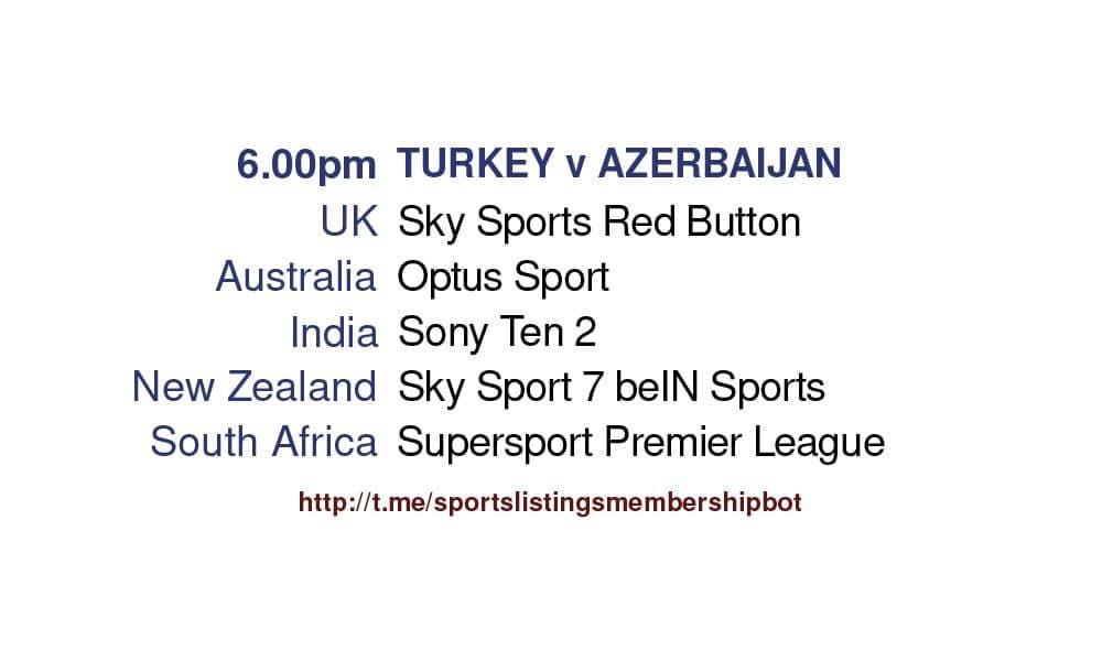 Football 27/5/2021 Turkey v Azerbaijan