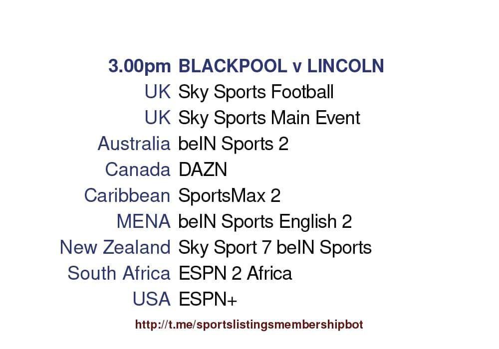 League One 30-5-2021 - Blackpool v Lincoln City