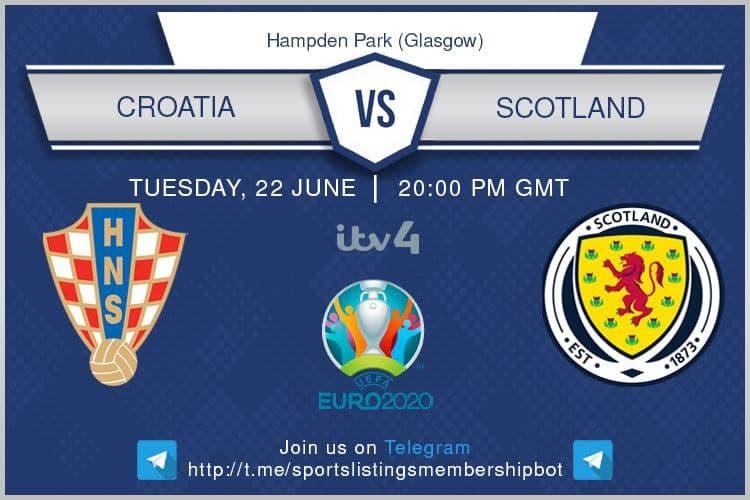 Euro 2020 22/6/2021 - Croatia v Scotland