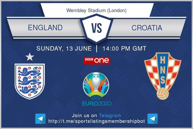 Euro 2020 13/6/2021 - England v Croatia
