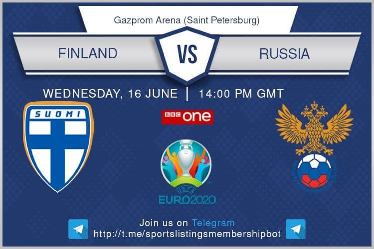 Euro 2020 16/6/2021 - Finland v Russia
