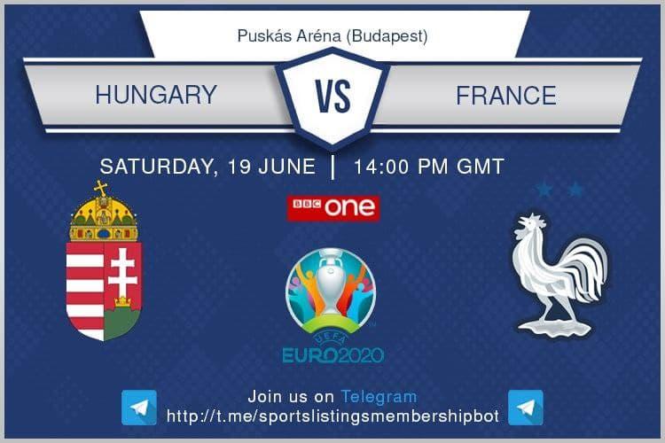 Euro 2020 19/6/2021 - Hungary v France