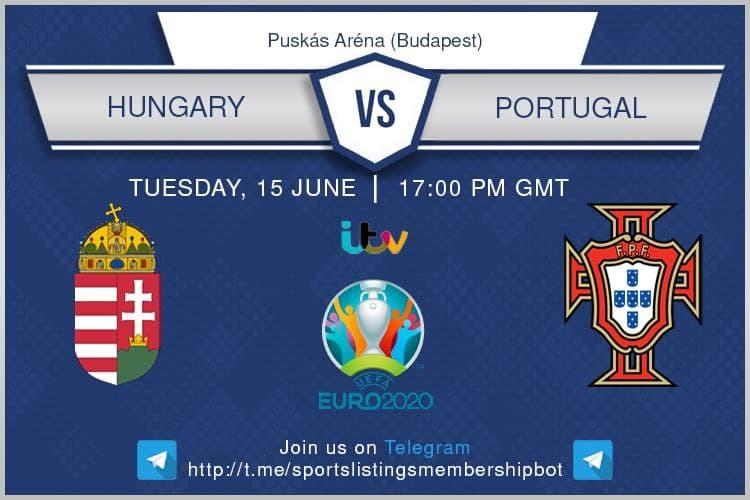 Euro 2020 15/6/2021 - Hungary v Portugal