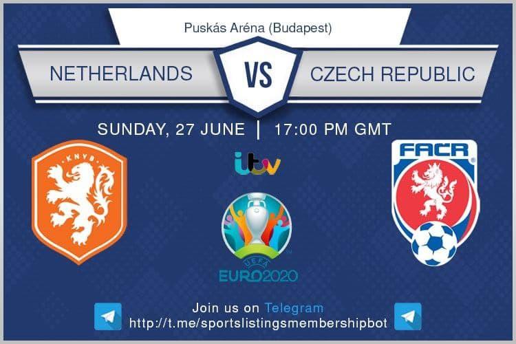 Euro 2020 27/06/2021 - Netherlands v Czech Republic