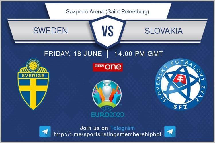 Euro 2020 18/6/2021 - Sweden v Slovakia