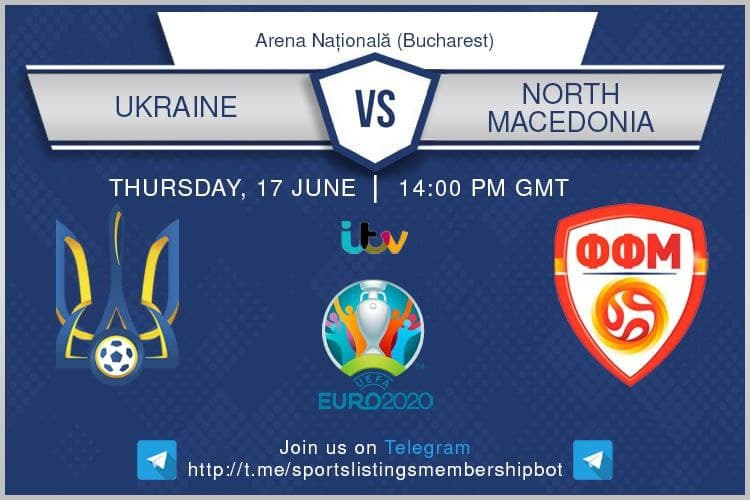 Euro 2020 17/6/2021 - Ukraine v North Macedonia