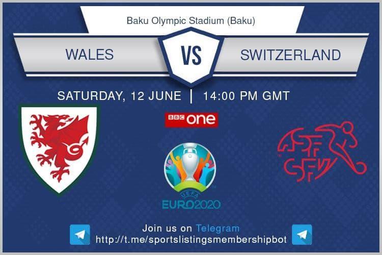 Euro 2020 12/6/2021 - Wales v Switzerland