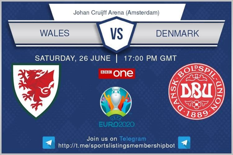 Euro 2020 26/6/2021 - Wales V Denmark