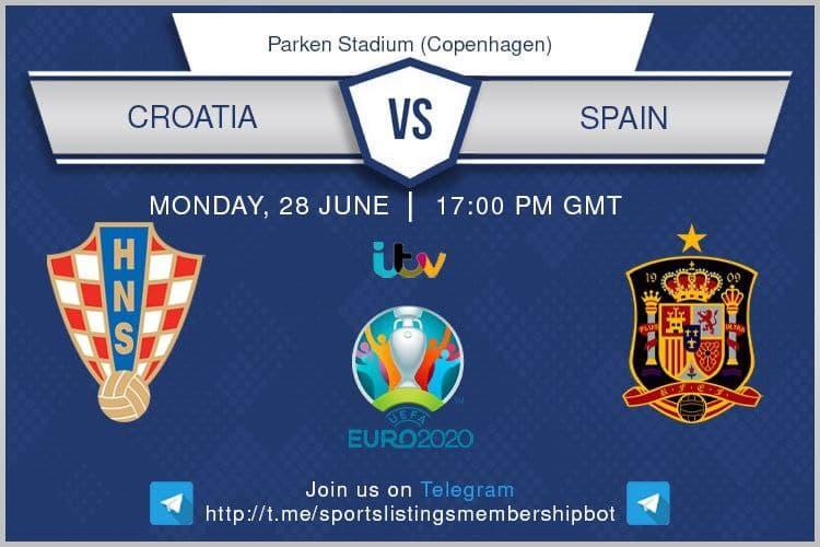 Euro 2020 28/06/2021 - Croatia v Spain