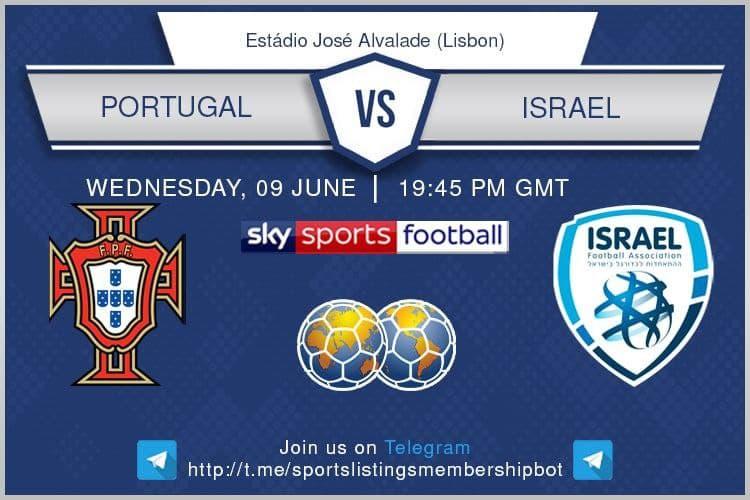 International Friendlies 9/6/2021 - Portugal v Israel