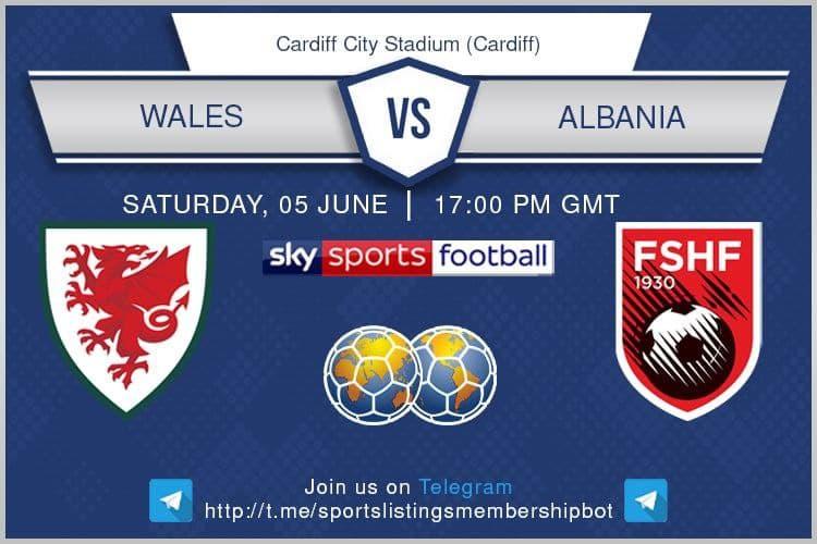 International Friendlies 5/6/2021 - Wales v Albania