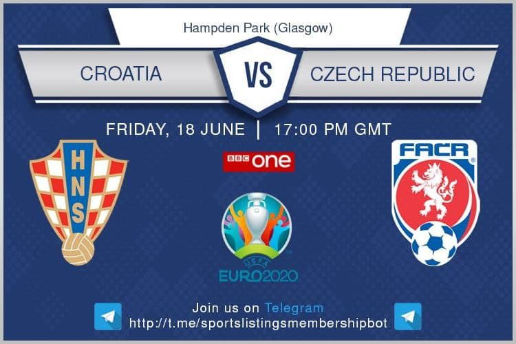 Euro 2020 18/6/2021 - Croatia v Czech Republic