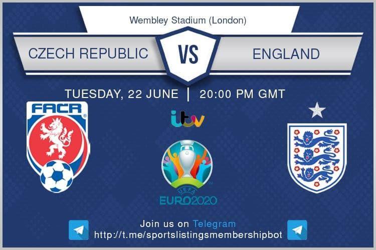 Euro 2020 22/6/2021 - Czech Republic v England.
