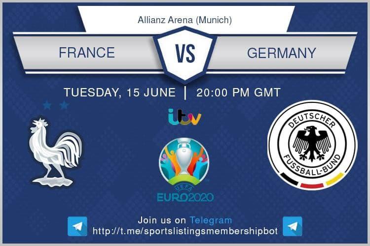 Euro 2020 15/6/2021 - France v Germany