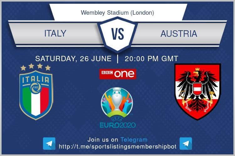 Euro 2020 26/6/2021 -Italy v Austria