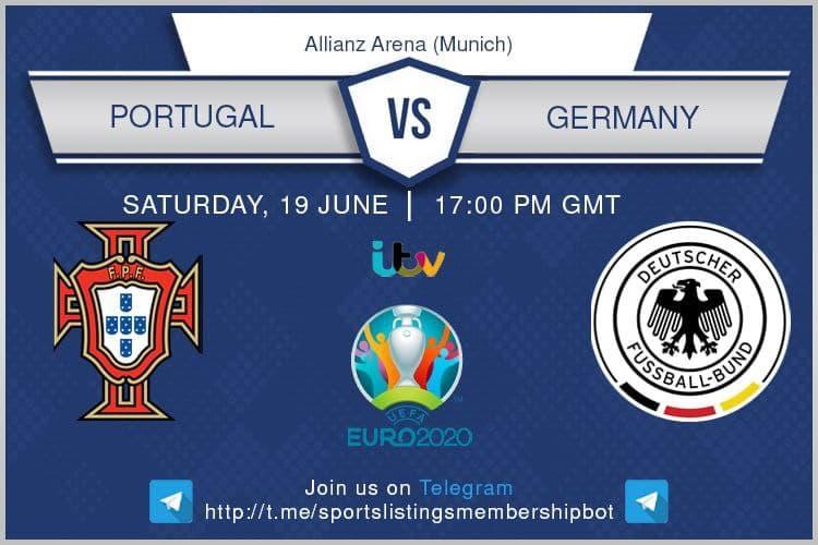 Euro 2020 19/6/2021 - Portugal v Germany