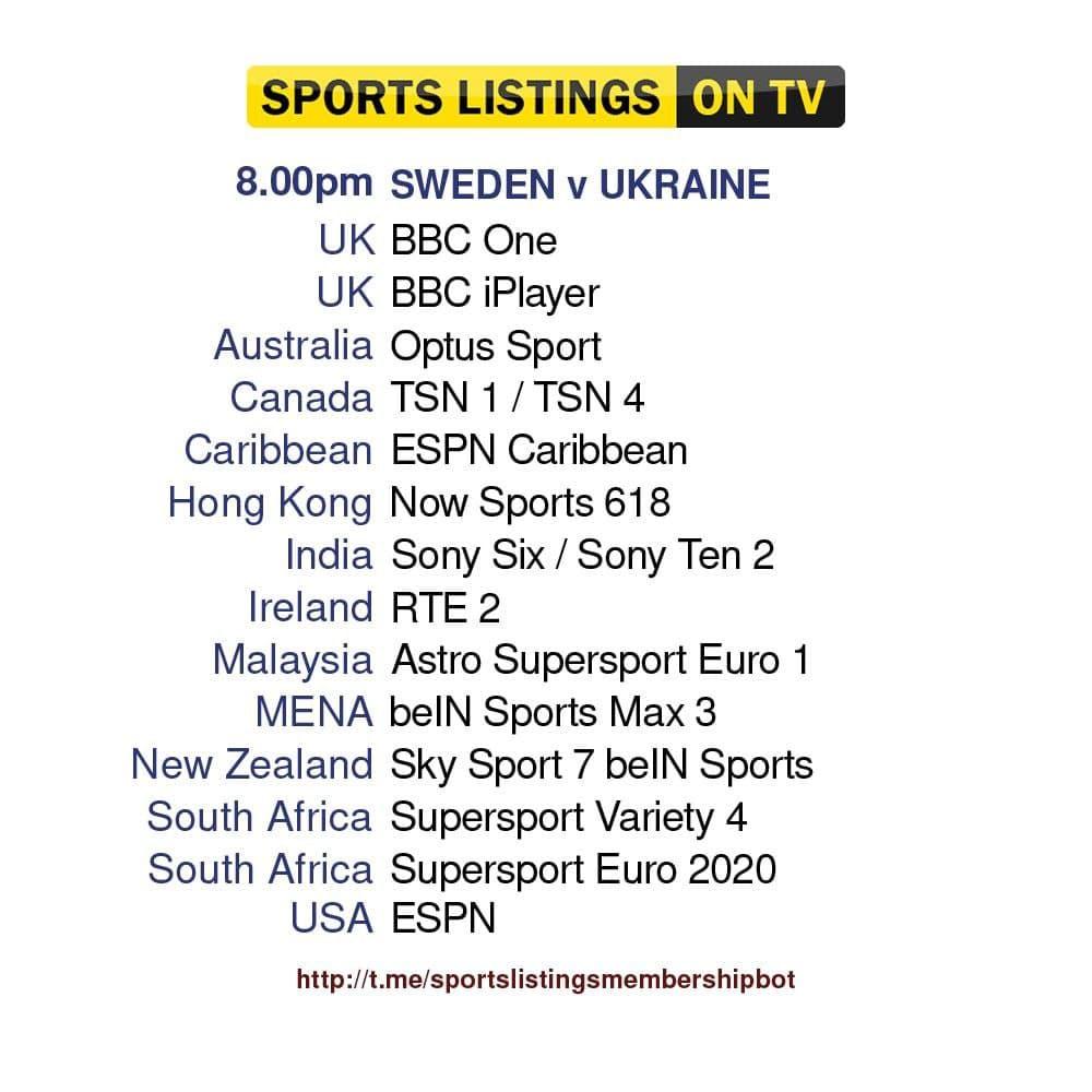 Euro 2020 29/06/2021 - Sweden v Ukraine