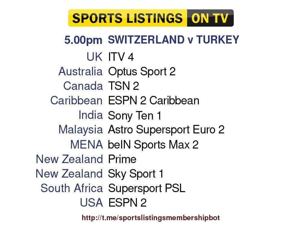 Euro 2020 20/6/2021 - Switzerland v Turkey