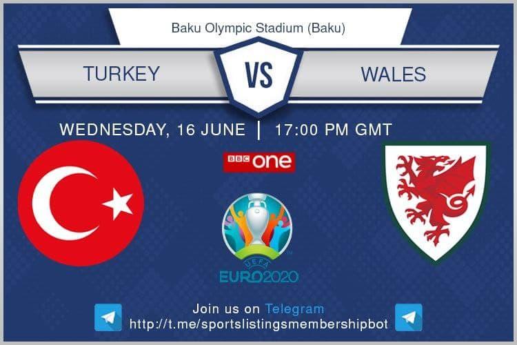 Euro 2020 16/6/2021 - Turkey v Wales