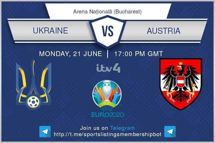 Euro 2020 21/6/2021 - Ukraine v Austria