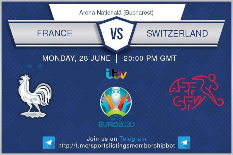 Euro 2020 28/06/2021 - France v Switzerland