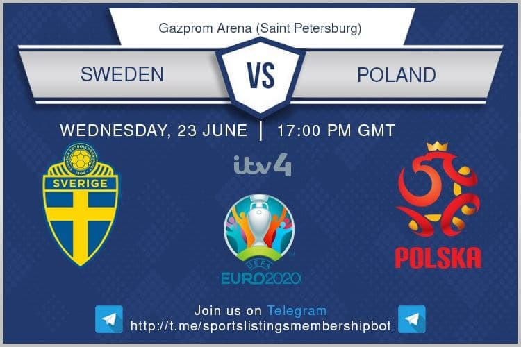 Euro 2020 23/6/2021 - Sweden v Poland