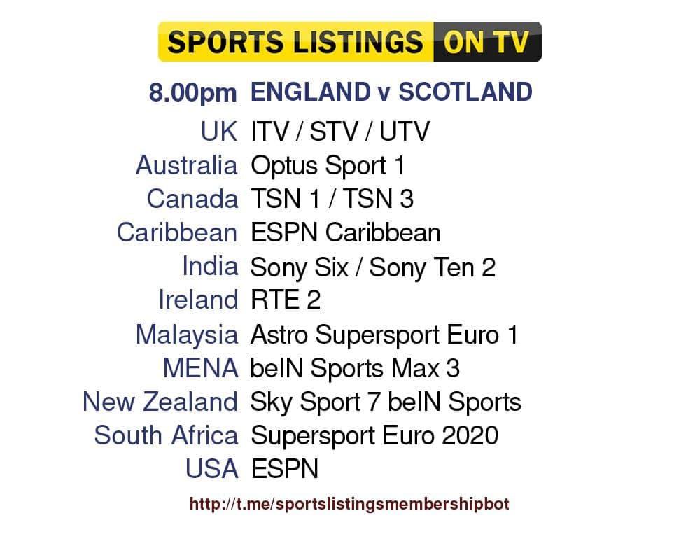Euro 2020 18/6/2021 - England v Scotland