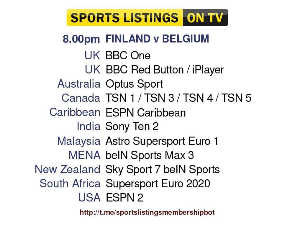 Euro 2020 21/6/2021 - Finland v Belgium