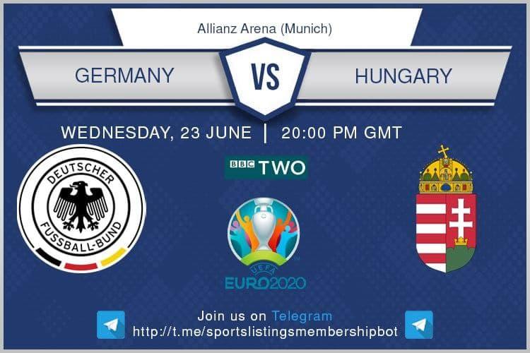 Euro 2020 23/6/2021 - Germany v Hungary