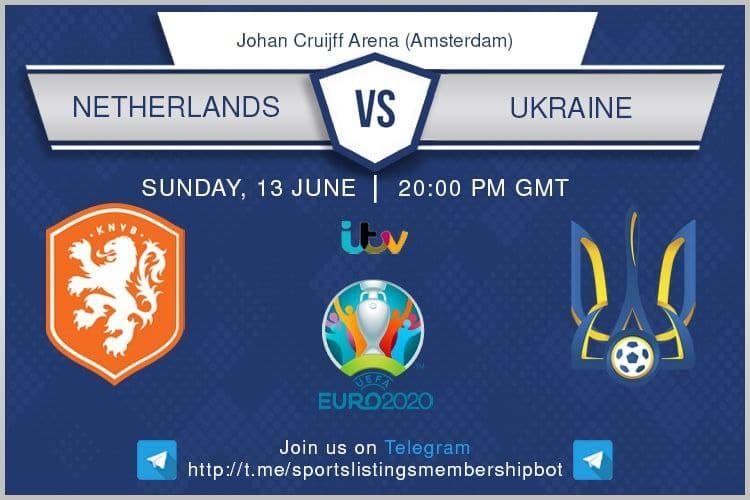 Euro 2020 13/6/2021 -Netherlands v Ukraine