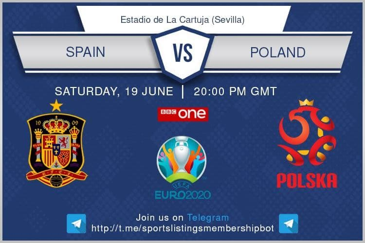 Euro 2020 19/6/2021 - Spain v Poland