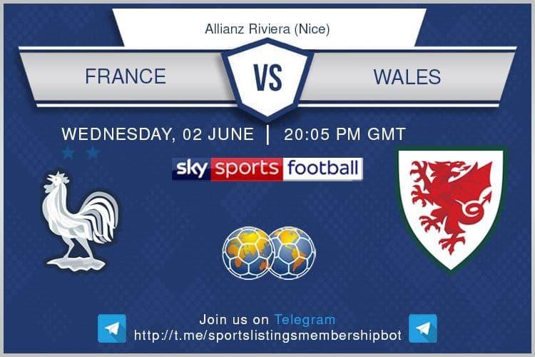 International Friendlies 2/6/2021 -France v Wales