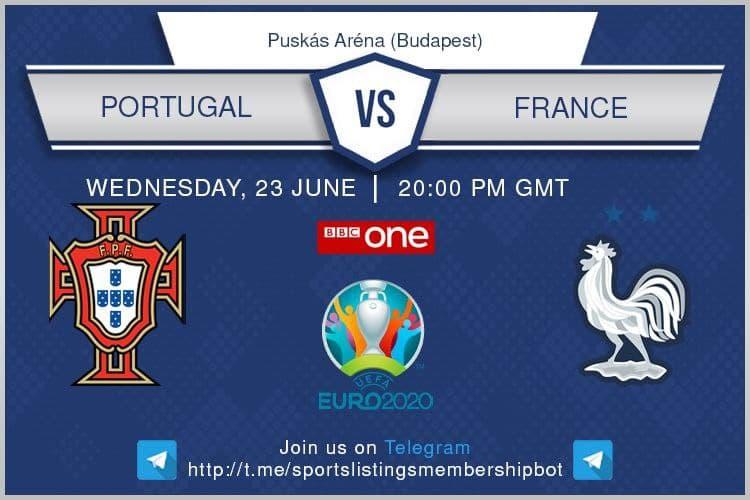 Euro 2020 23/6/2021 -Portugal v France