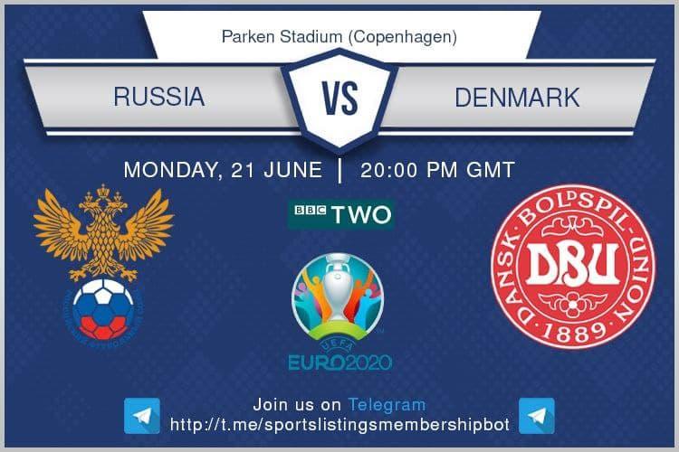 Euro 2020 21/6/2021 - Russia v Denmark
