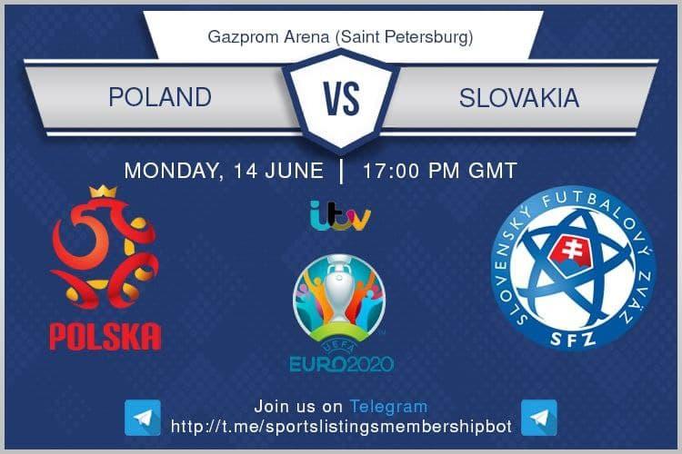 Euro 2020 14/6/2021 - Poland v Slovakia