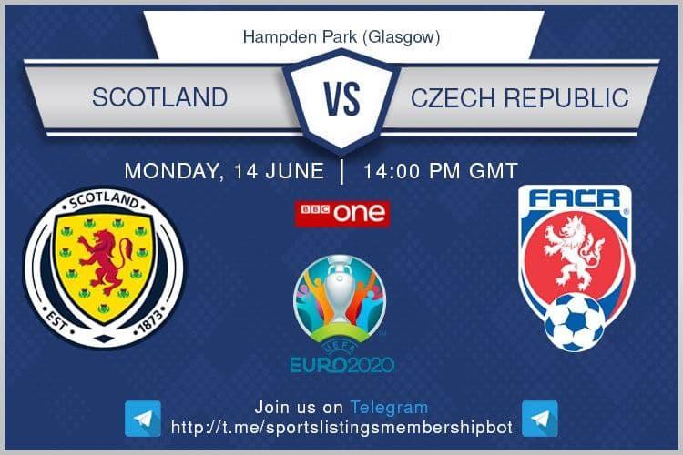 Euro 2020 14/6/2021 - Scotland v Czech Republic