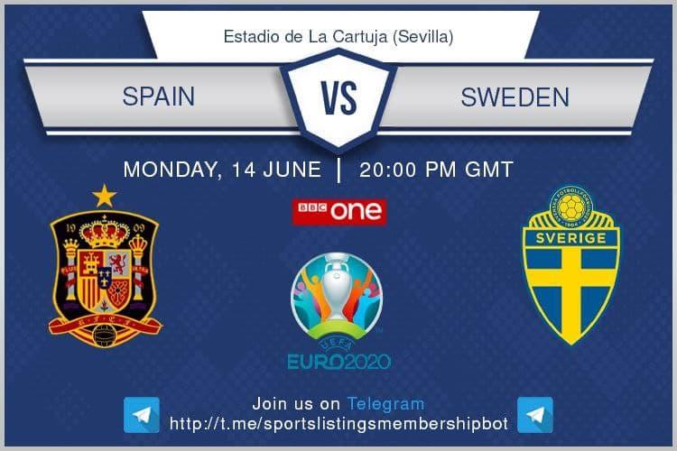 Euro 2020 14/6/2021 - Spain v Sweden