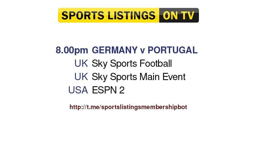 International Friendlies 6/6/2021 -Germany v Portugal