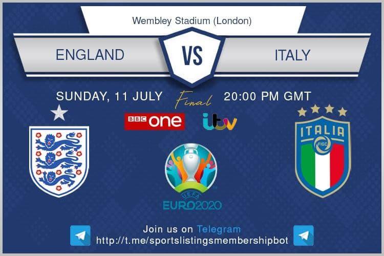 Euro 2020 Final - Italy v England