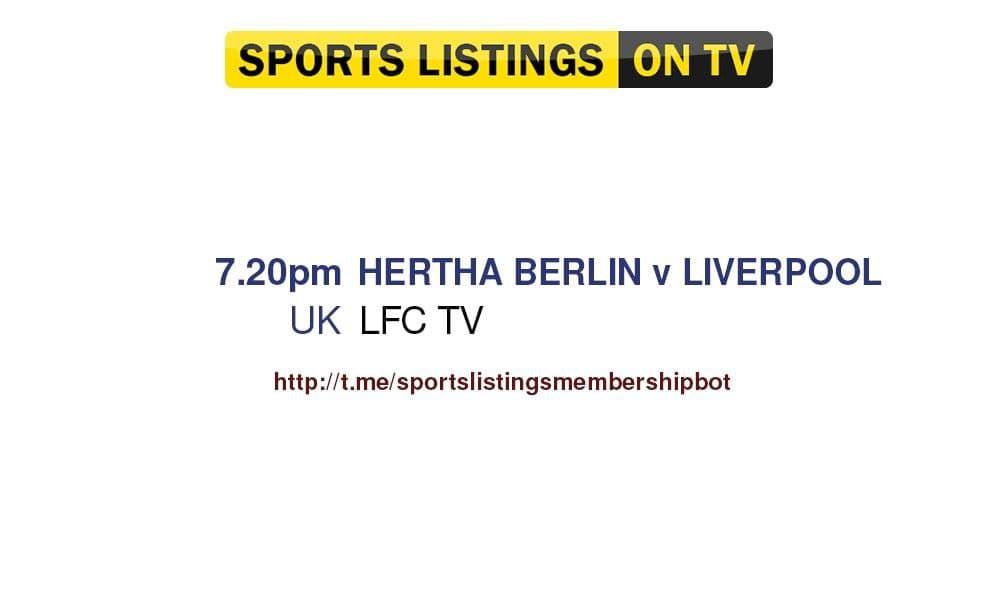 Football 29/7/2021 - Hertha BSC v Liverpool detailed