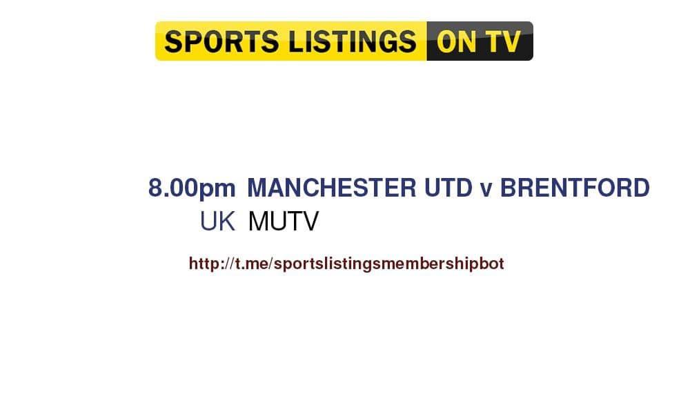 Football 28/7/2021 - Manchester United v Brentford - detailed